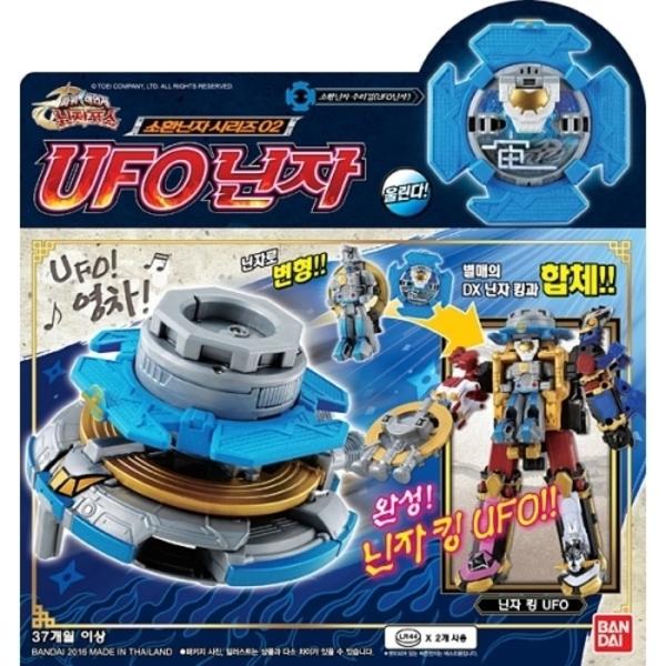 UFO닌자/반다이 파워레인저 닌자포스 장난감 로봇완구