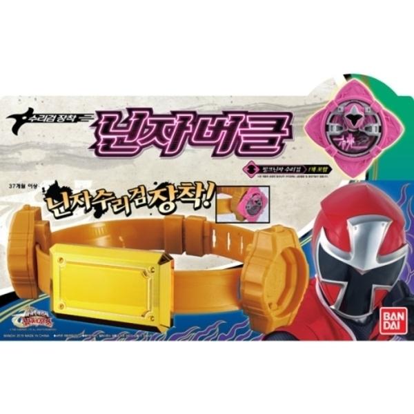 수리검장착 닌자버클/파워레인저 닌자포스 장난감완구