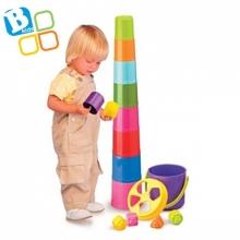 비키즈 다용도 컵쌓기/아기장난감/컵쌓기 [특가세일]
