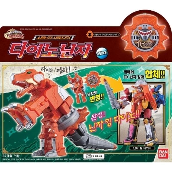 다이노닌자/반다이 파워레인저 닌자포스 장난감 로봇