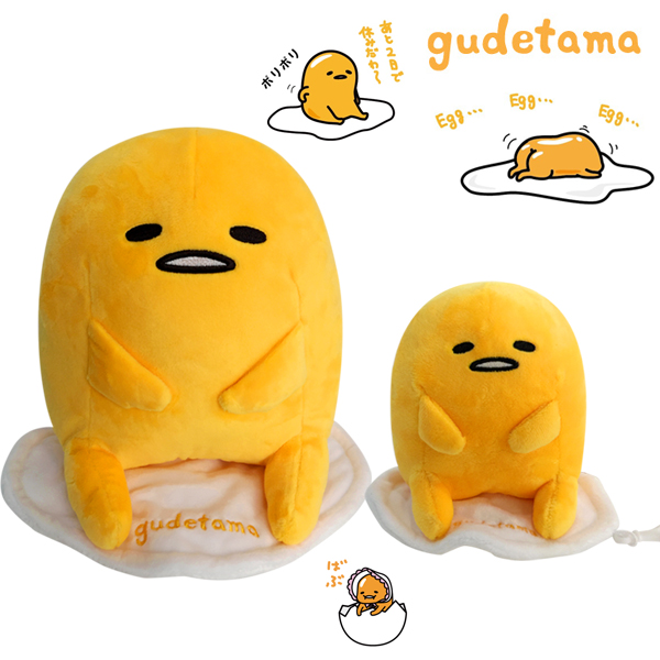구데타마 인형 15cm/가방고리/가방걸이인형/계란인형